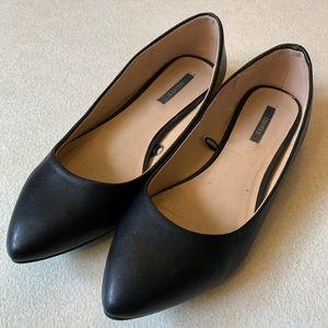 Forever 21 Black Flats 7.5